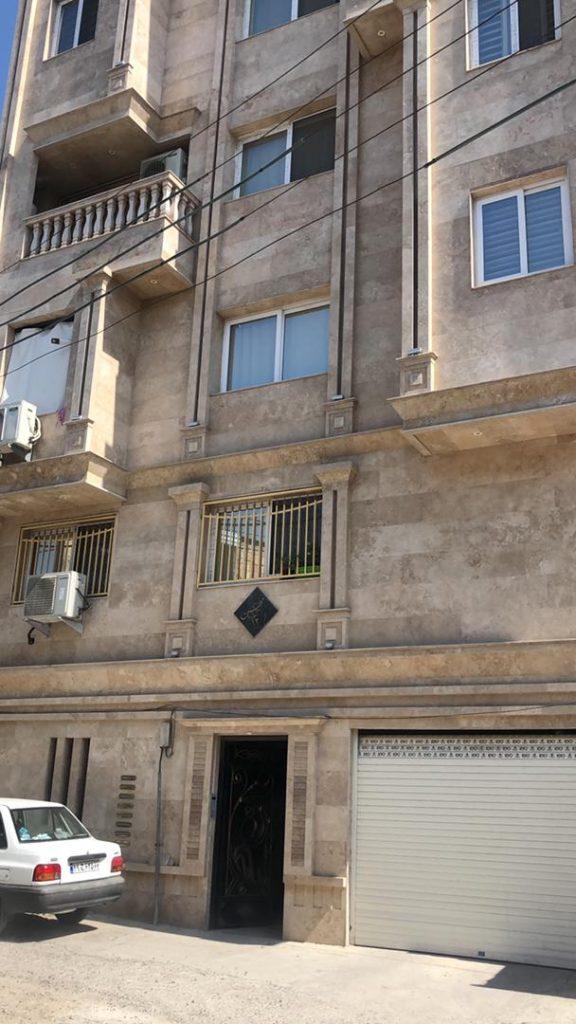 فروش آپارتمان ۱۲۵ متری ابتدا بلوار شمشیربند